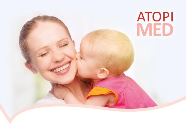 <!--                -->                Дерматокосметика ATOPI MED — дбайливий догляд за атопічною шкірою!